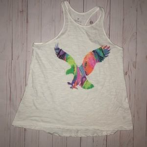American Eagle favorite tank eagle logo size small